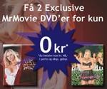 Få 2 eksklusive dvd´er for kun 0 kroner
